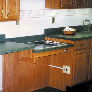 Ordinaire Kitchen Counter With Adjustable Height Cook Top
